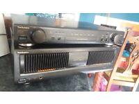 TECHNICS PRE AMP AND POWER AMP. BARGAIN PRICE
