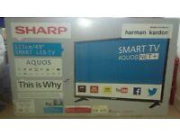 brand new in box SHARP TV
