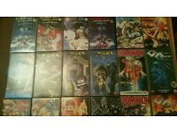 34 manga vhs tapes