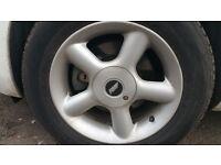 """Set of Four 16"""" Wheel Rims"""