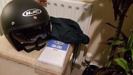Motorbike Helmet - Brand New and in Packaging - HJC FG-70S - Matt Black
