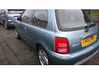 Nissan Micra 1.0 3-dr with only 79K 12 months MOT Service History£550