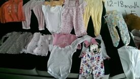 girl clothes 12-18 18-24 month,carboot joblot,cheap,carboot items,house clearance,carboot nr 7