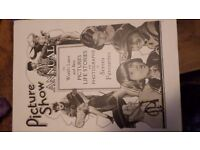 TWO 2 picture show annuals from the great days of hollywood: 1947 1942
