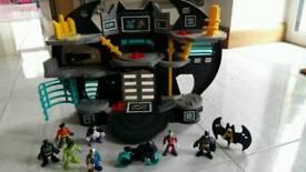 Batcave set