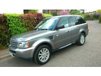 Range Rover Sport 09, 2.7 TD V6, Auto, Low milage 70082, SATNAV