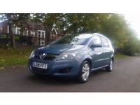 VAUXHALL ZAFIRA 1.8 DESIGN 08PLATE 2008 2P/ OWNER 87000 MILES VOSA HISTORY 7SEATER AIRCON ALLOYS
