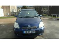 2004 TOYOTA YARIS 1.3 5DOOR COLOUR COLLECTION FULL SERVICE HISTORY