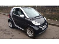smart fortwo passion 71 automatic 1.0 petrol 2008 08 plate