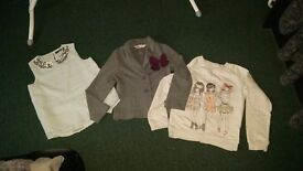 Bundle of clothes (22 pieces) for 7-8 years old