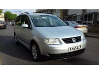 2006 VOLKSWAGEN TOURAN 1.9 TDI 6 SPEED MANUAL 7 SEATER FULL SERVICE HISTORY LONG MOT