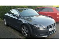 07 Audi TT Coupe 2.0 TFSI DSG Paddle shift gears