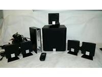 Creative Inspire 5.1 digital 5500 Surround Sound stereo system PC DVD