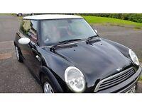 Black Mini One 1.6 Petrol Hatch 3 door