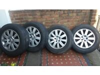 Discovery 3 SE OEM wheels and tyres