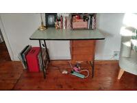 Vintage French Mid Century Desk