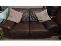 Leather sofa give away for caring home