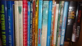 Box of Hard Back Books