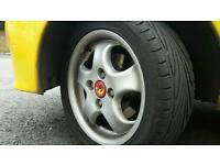 Fiat wheels and tyres