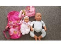 Baby dolls and accessoroes - Chou Chou & Corolle doll