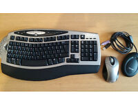 Wireless Keyboard and Mouse - Microsoft Wireless Comfort Keyboard