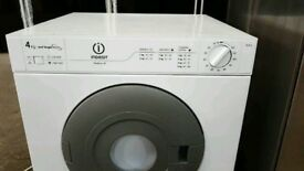 6 Months Old White Indesit 4 Kg Vented Dryer