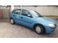 Immaculate Corsa low miles long MOT real bargain ideal first car similar clio punto peugeot ford