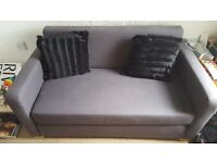 Dark grey sofa bed for sale