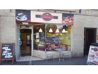 Cafe & sandwich shop business for sale ,Great oppotunity in the south side of Glasgow.