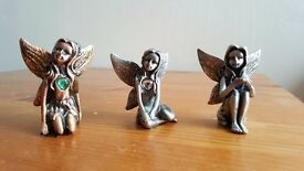 Pewter Birthstone Fairies