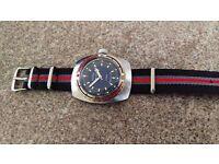near mint Vostok Amphibia USSR CCCP antimagnetic shock resistant diver watch vintage retro