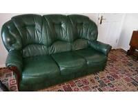 3+2 Leather Suite, sofa