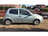 Fiat punto 53 plate. 1.2 petrol
