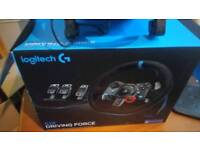 Logitech g29 racing wheel for ps4 or pc