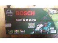 Bosch battery Lawn mower 36v Brand New