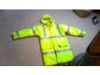 Yellow Hi-Vis Jacket / Coat