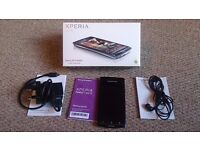 Sony Ericsson Xperia Arc S in good condition. Unlocked.Includes charger and earphone with microphone