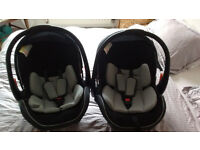 Two Mamas and Papas Infant Car Seats/Baby Carriers