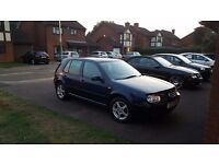 vw golf 1.9tdi new battery cheap car diesel low tax and insurance £600