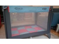 Graco Pack n' Play compact travel cot for sale