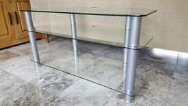 Three Tier Glass TV stand for sale