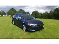 ×× 2008 MITSUBISHI LANCER 2.0 DI-D GS4 IN RARE BLUE 4DR DIESEL SALOON MANUAL ×× TOP OF THE RANGE ××