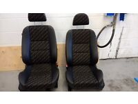 MG ZR 1/2 leather front seats , Vw, camper, kit car etc