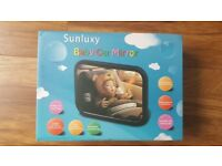 Sunluxy Car Baby Mirror