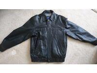 Debenhams Men's leather jacket, never worn