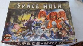 1st Edition Games Workshop Space Hulk Incomplete