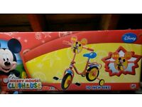 """Mickey mouse clubhouse 10 """" children's bike"""