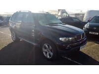 bmw x5 sport turbo diesel automatic 2005 55 plate