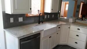 Special package : $1799 for quartz countertop up to 40 sq.ft with installation