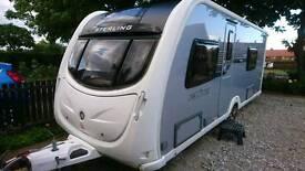 Sterling elite amber caravan 2011